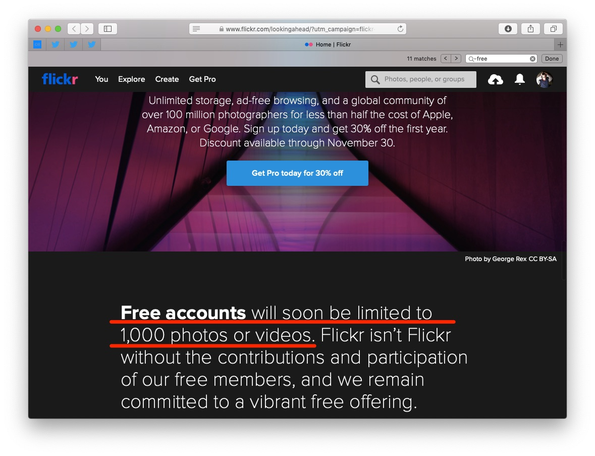 Flickr to limit 1TB account to 1000 photos/videos, new paid perks