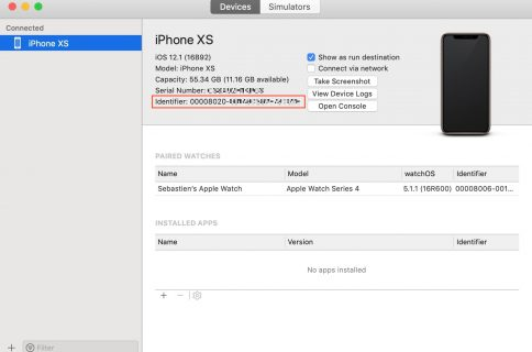 How To Get Device Logs From Iphone With Xcode
