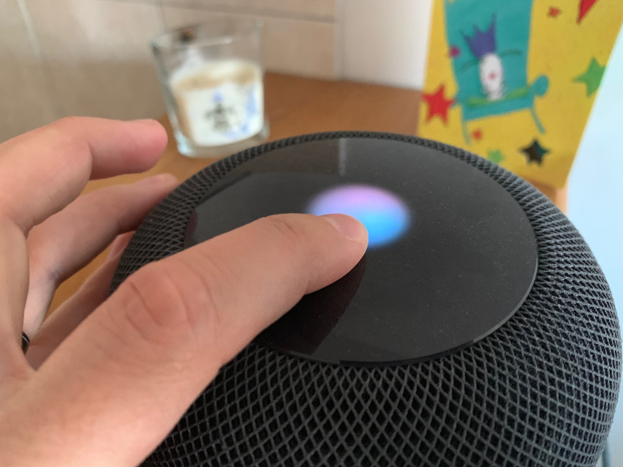 Transfer phone calls from iPhone to HomePod