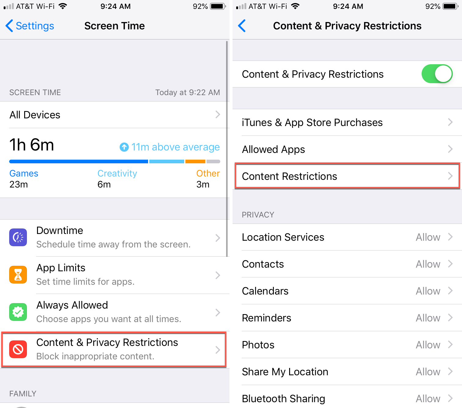 How to block access to specific websites on iPhone or iPad