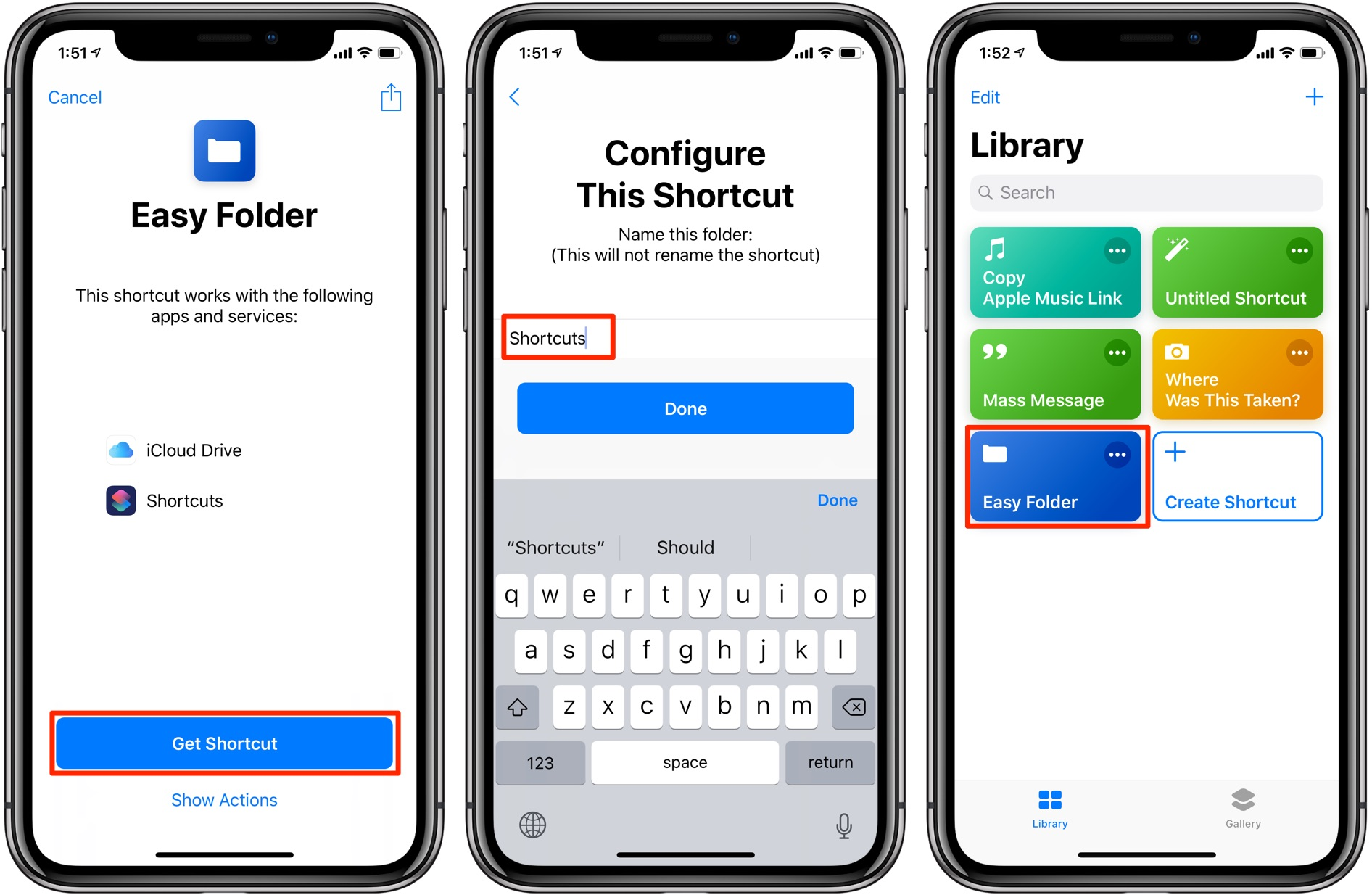 Apple Shortcuts app