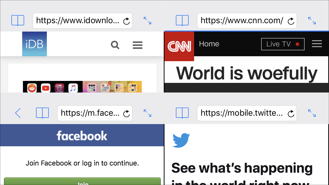 How to browse multiple sites at once on iPhone or iPad with
