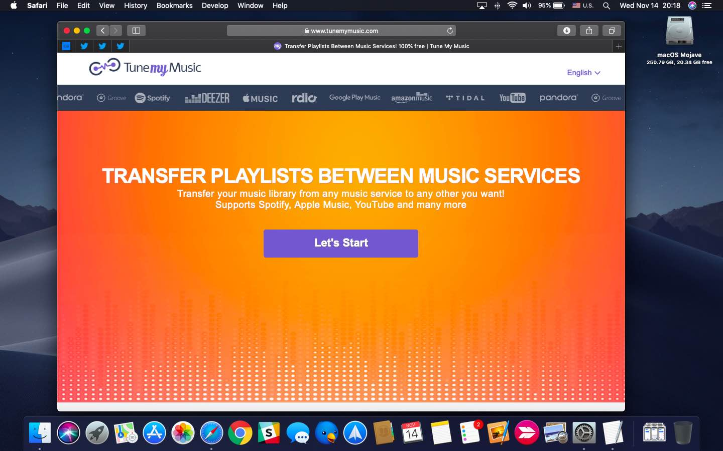 How to transfer playlists between popular music services