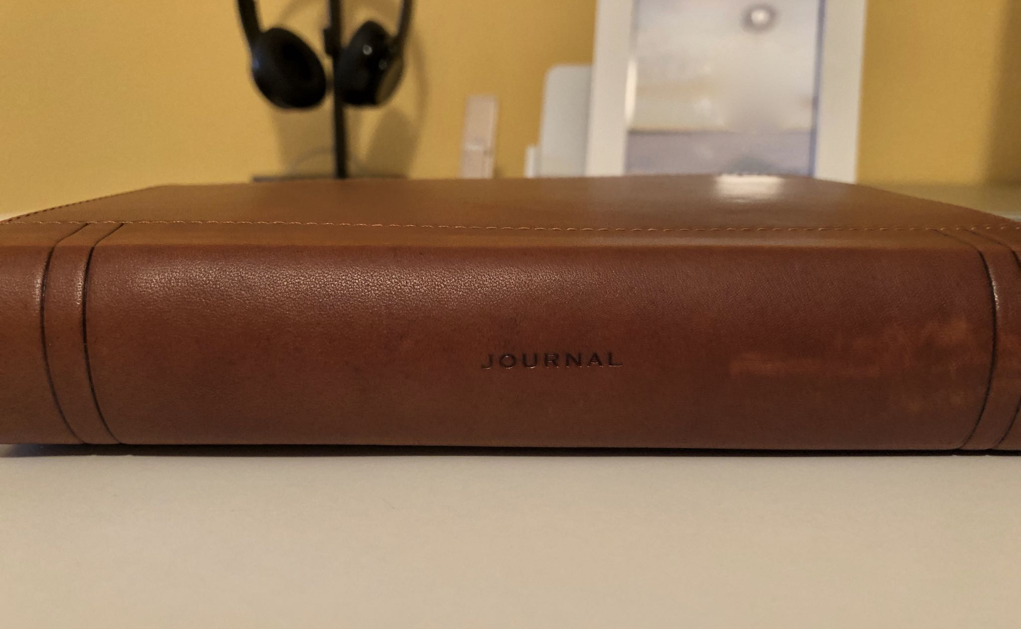 Leather cases - CaddySack travel organizer from Twelve South