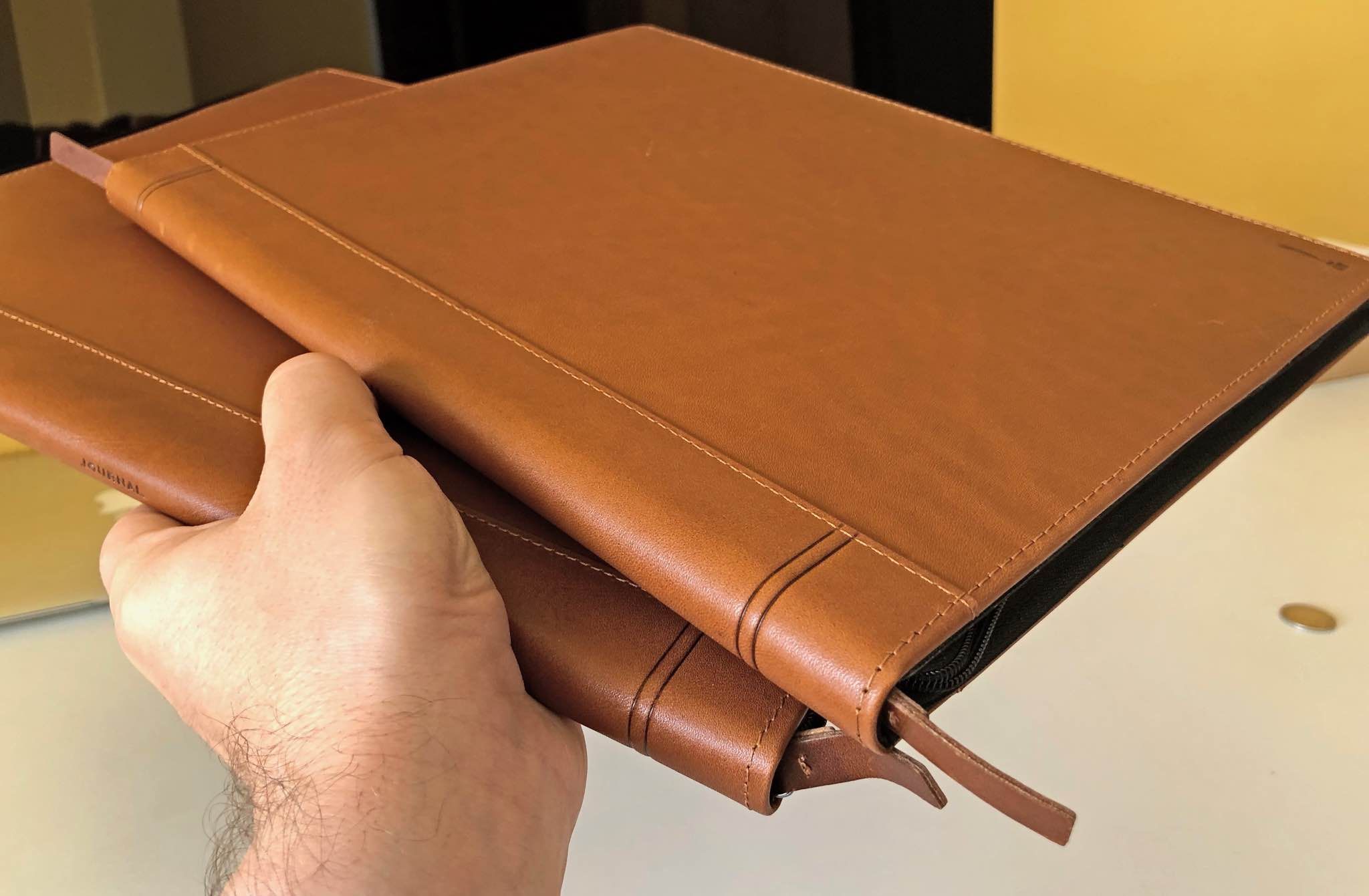 Leather cases for notebooks