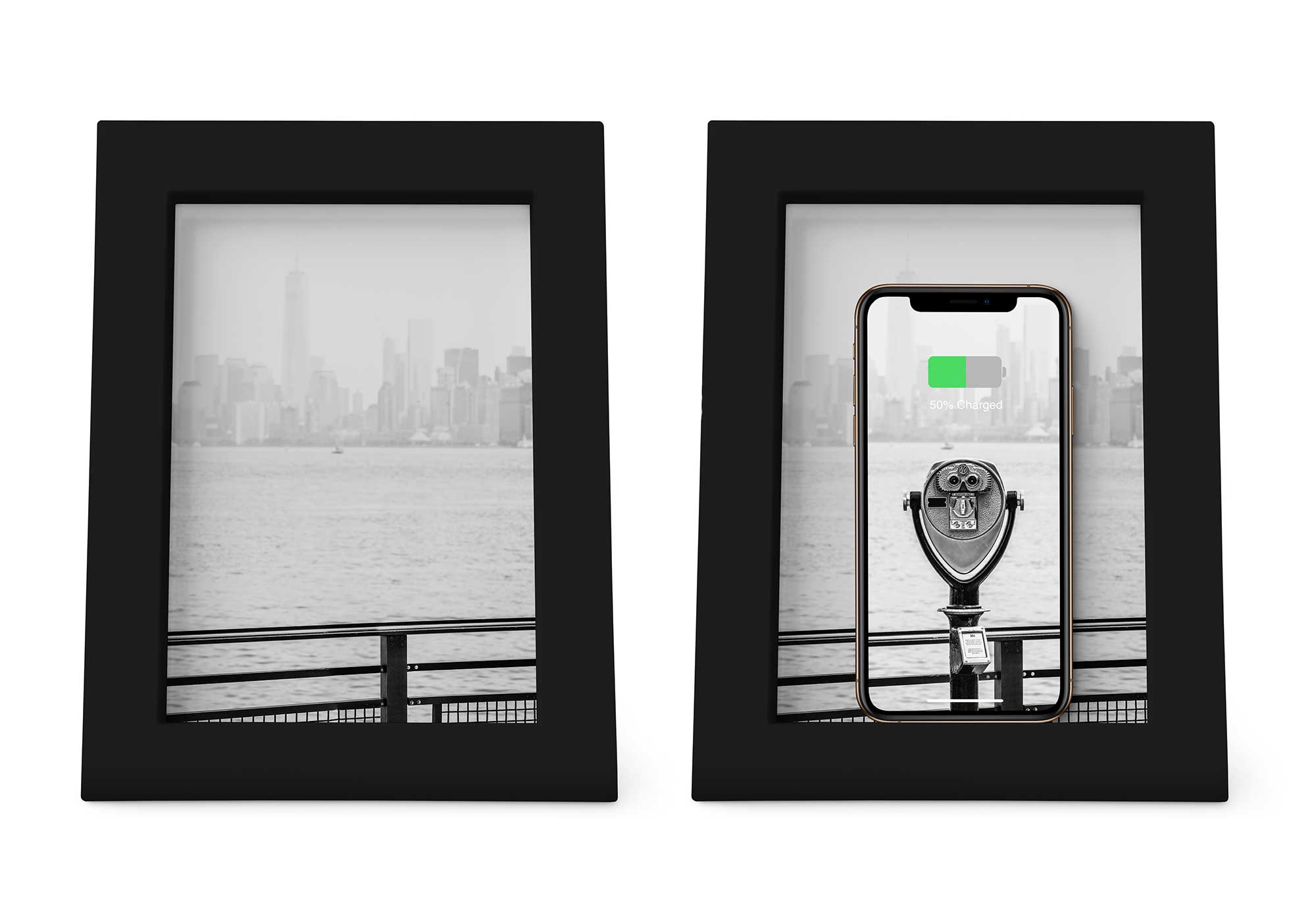595af070193 Review  Twelve South PowerPic—a 5x7 picture frame that wirelessly charges  your iPhone