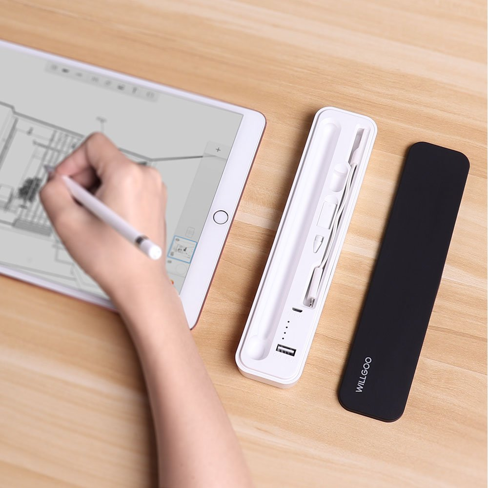 reputable site 854d1 30b44 Review: Willgoo case keeps your Apple Pencil charged and its ...