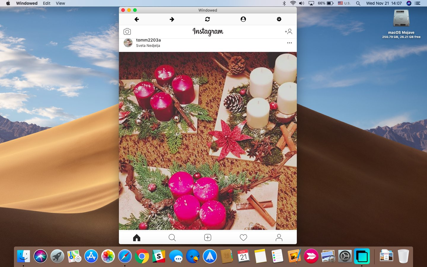Windowed lets you upload and view Instagram posts on your Mac