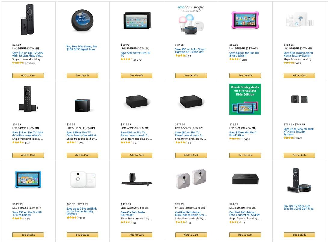 Amazon device deals.