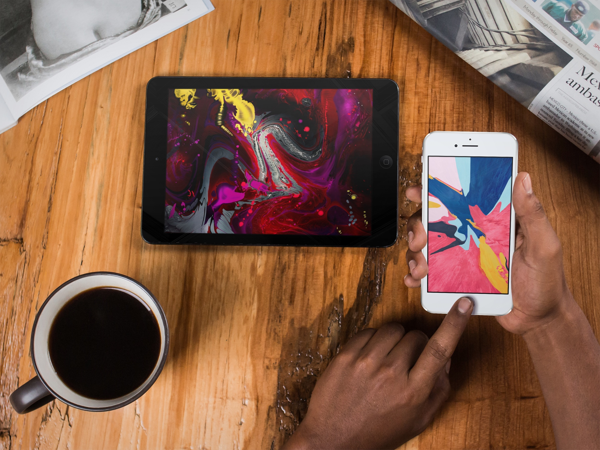 Download: iPad Pro and MacBook Air wallpapers for iPhone and iPad
