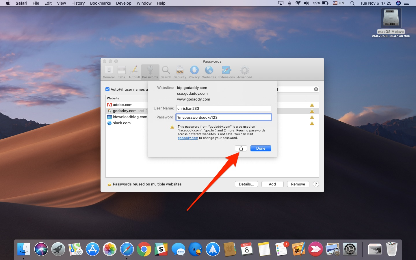 how to turn off password on mac mojave