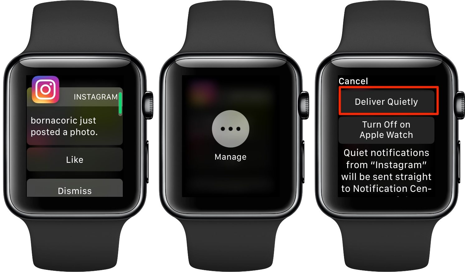 Apple Watch notifications - Instant Tuning lets you deliver notifications quietly right when they arrive