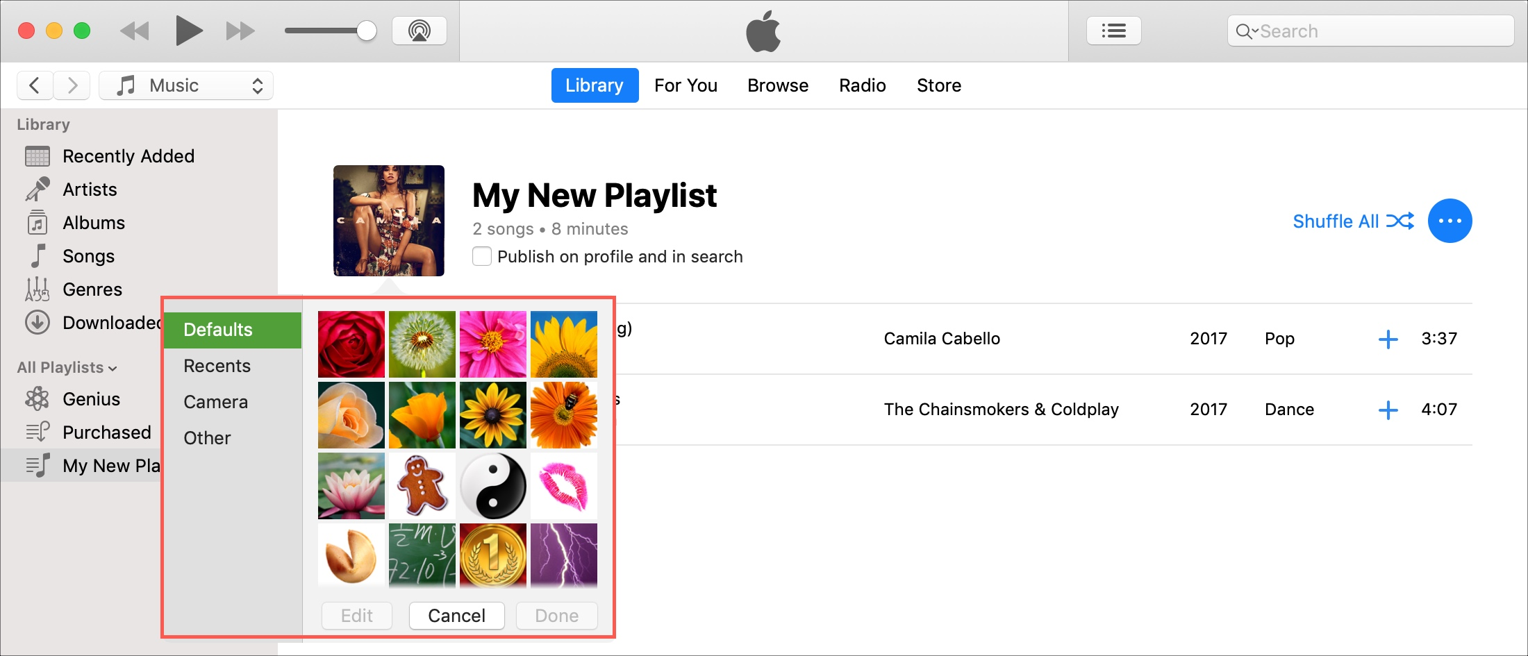 How To Easily Change Your Apple Music Playlists Cover Art