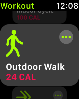 Apple Watch Outdoor Walk