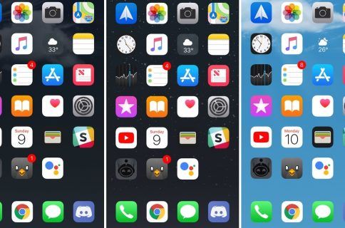 Evanescoxi Brings Focus To Your Home Screen Wallpaper After