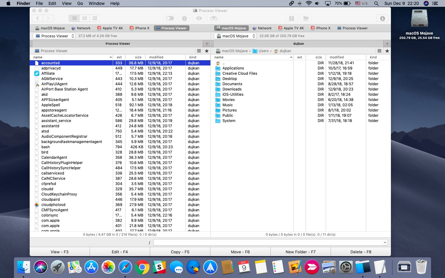 Commander One: a powerful, dual-pane Mac file manager that