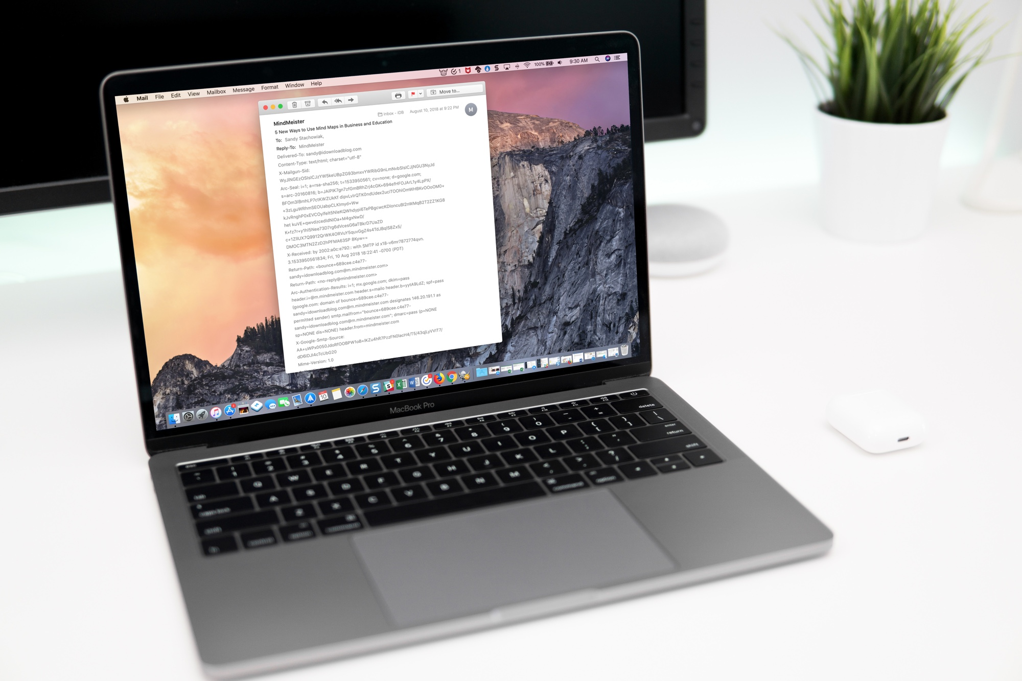 Full Email Headers on Mac Mail