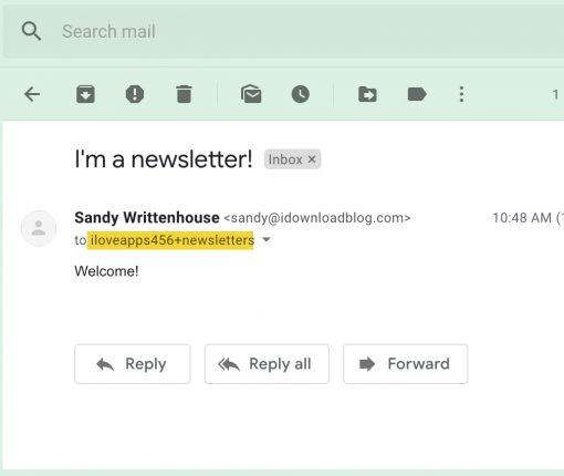 Gmail Add Plus Sign to Address