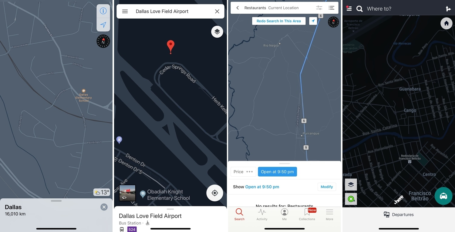 Night Maps Brings A Universal Dark Mode Experience To Various
