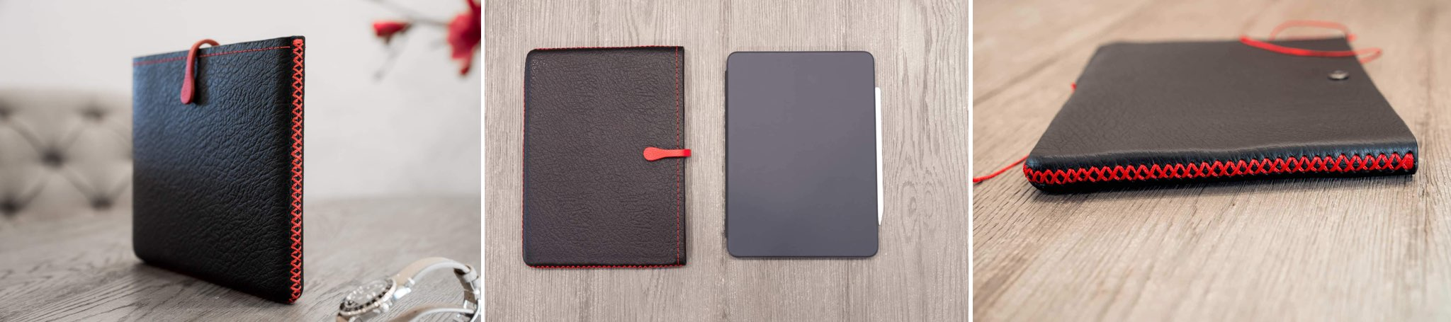Leather cases iPad - Picaso Lab sleeves for 2018 iPad Pro