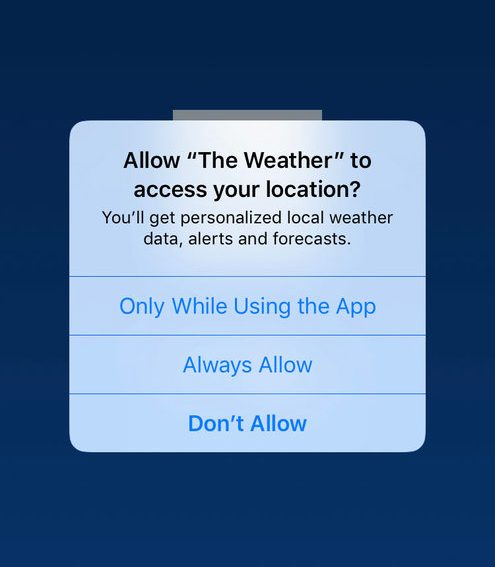 Los Angeles sues the Weather Channel app over alleged misuse