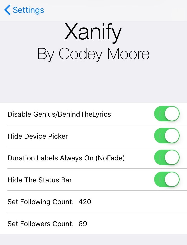 Customize your Spotify Music app experience with Xanify