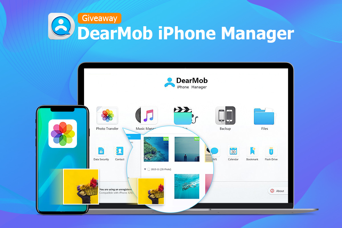 QnA VBage DearMob iPhone Manager: transfer photos from iPhone to computer with high flexibility [sponsor]