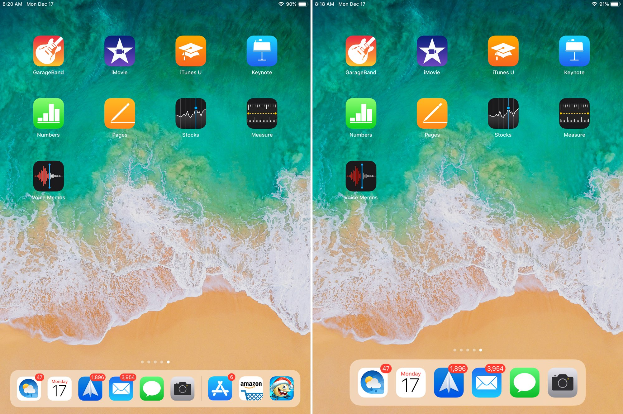 iPad Recent Apps in Dock Disabled