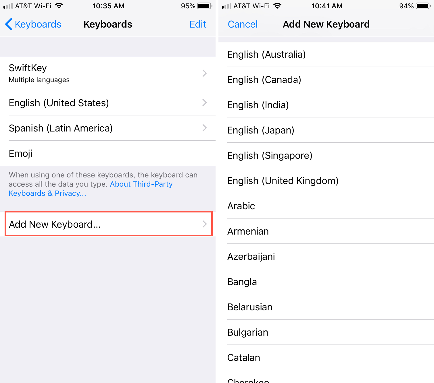 How to use a different spell check language on iPhone, iPad
