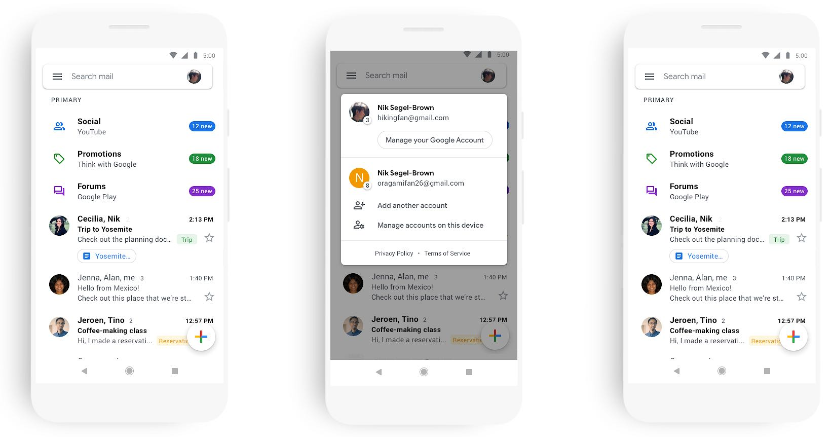 Brilliant Gmail For Ios Gets Material Design Overhaul With New Features Interior Design Ideas Jittwwsoteloinfo