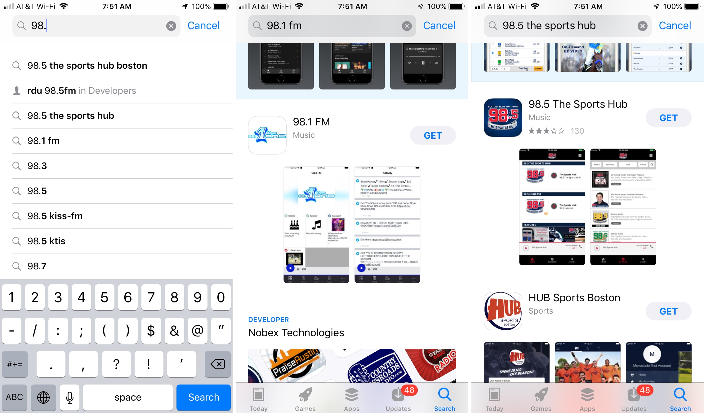 Search FM Radio Station on App Store