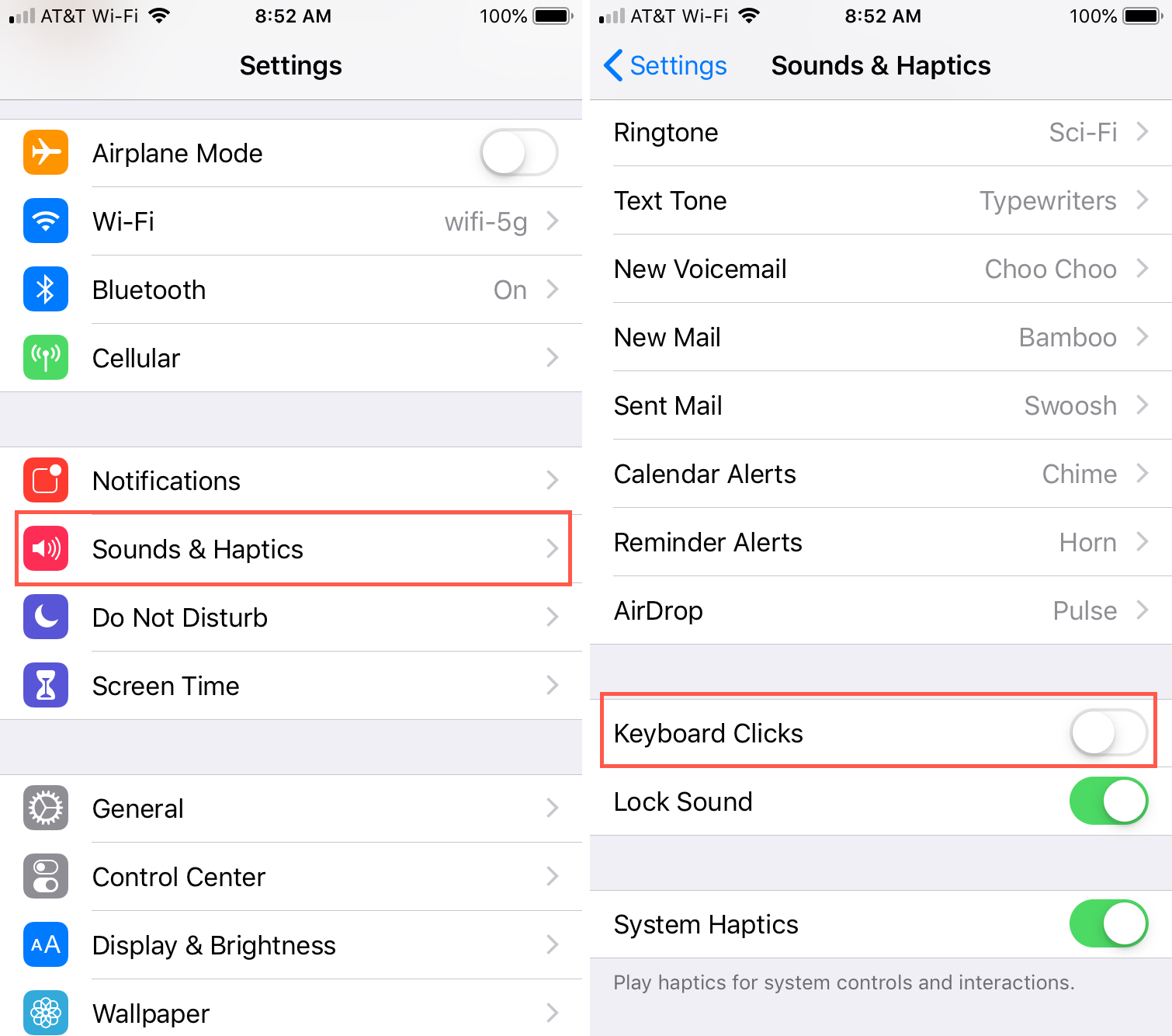 How to turn off the keyboard click sounds on iPhone and iPad