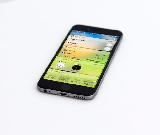 World Clock Widgets on Today Screen iPhone
