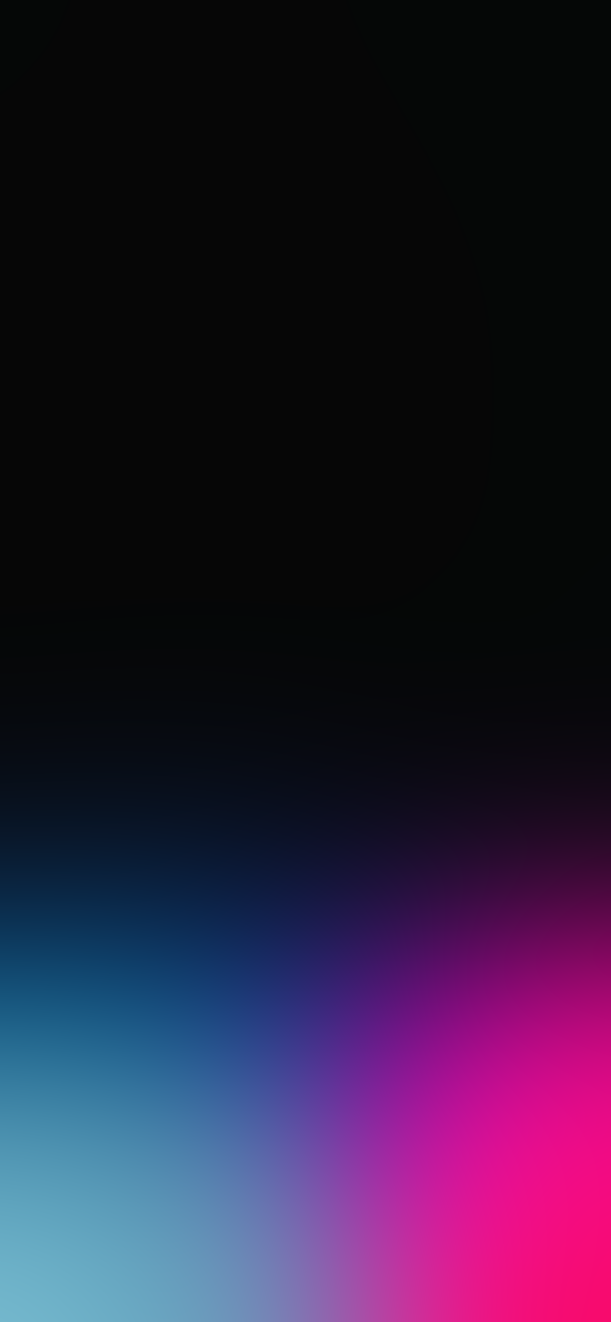 True Black With Colorful Gradients Wallpapers