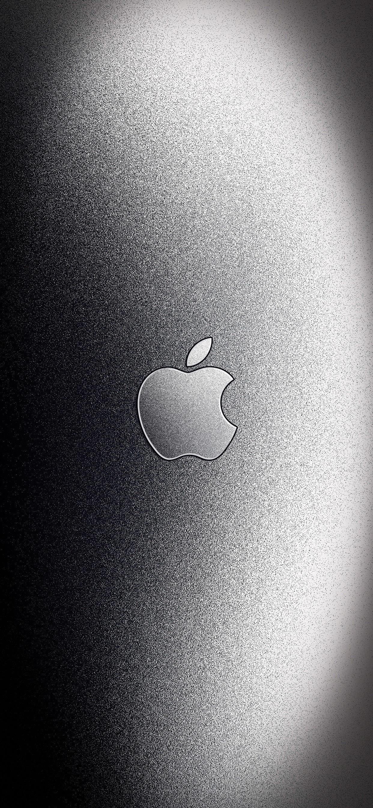 v3 with Apple Logo iPhone XS Max wallpaper ar72014