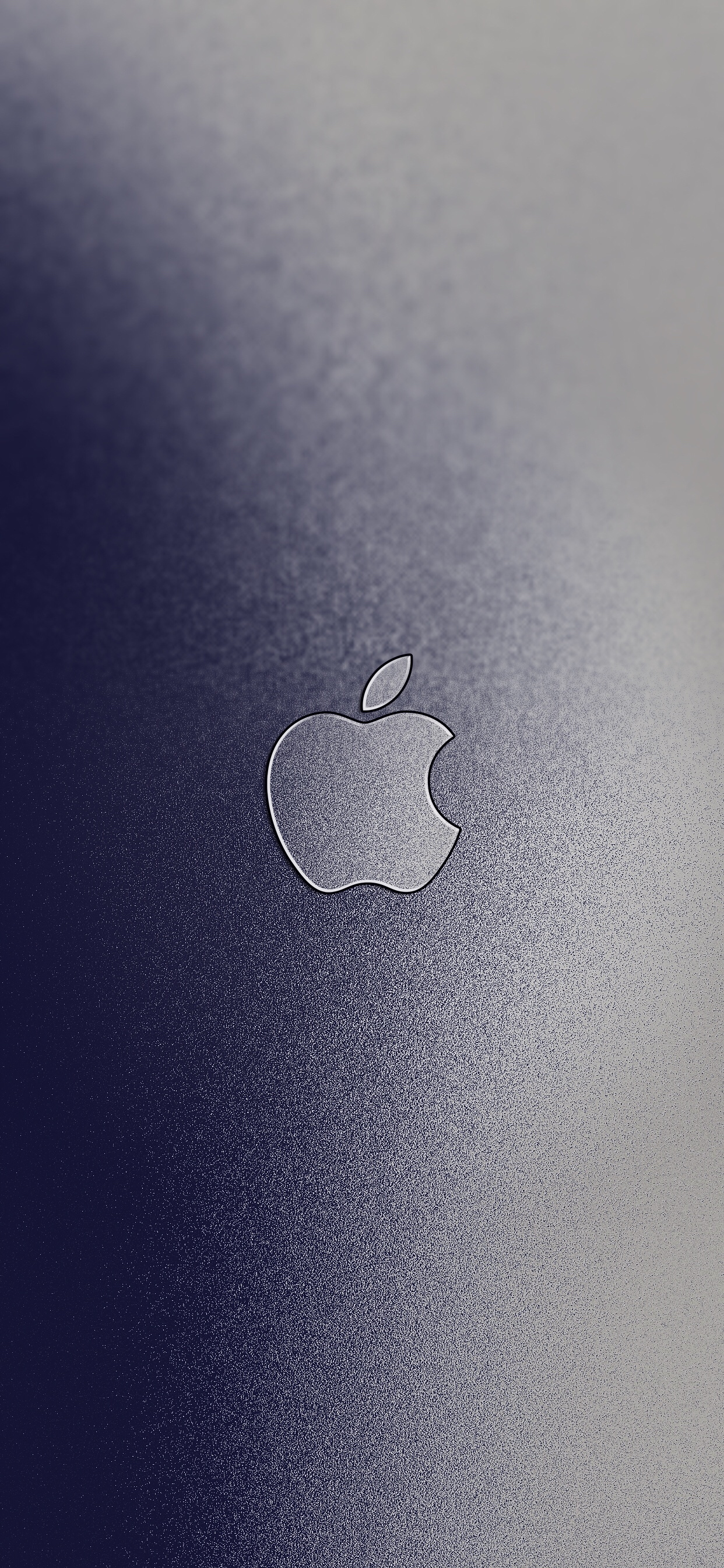 v6 with Apple Logo iPhone XS Max wallpaper ar72014
