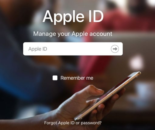 Apple ID Account Website Log In