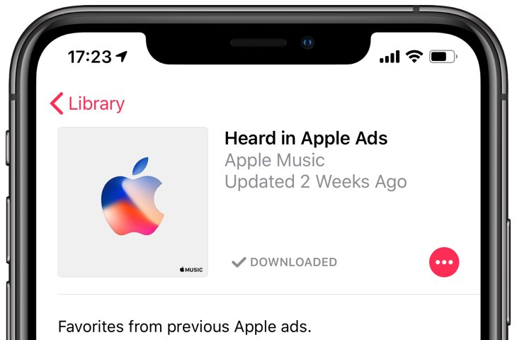 What is that song in the iPhone XS commercial? What's that tune you first heard in the HomePod ad? Here's a playlist of favorite songs from recent Apple ads.