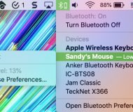 Low Battery Level Mouse on Mac