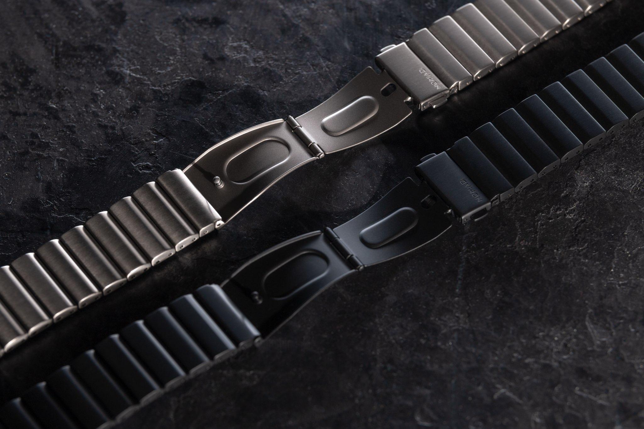 Nomad's titanium Apple Watch band launches, resembles a high-end metal link bracelet