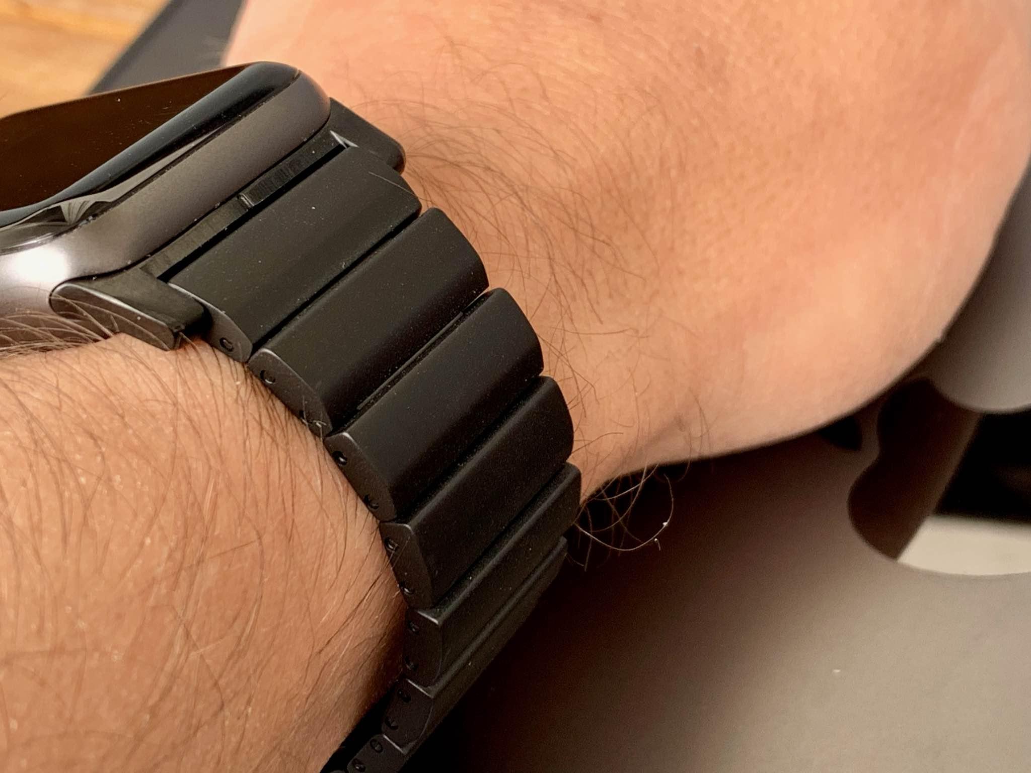 Precision craftsmanship results in a high-end metal bracelet.