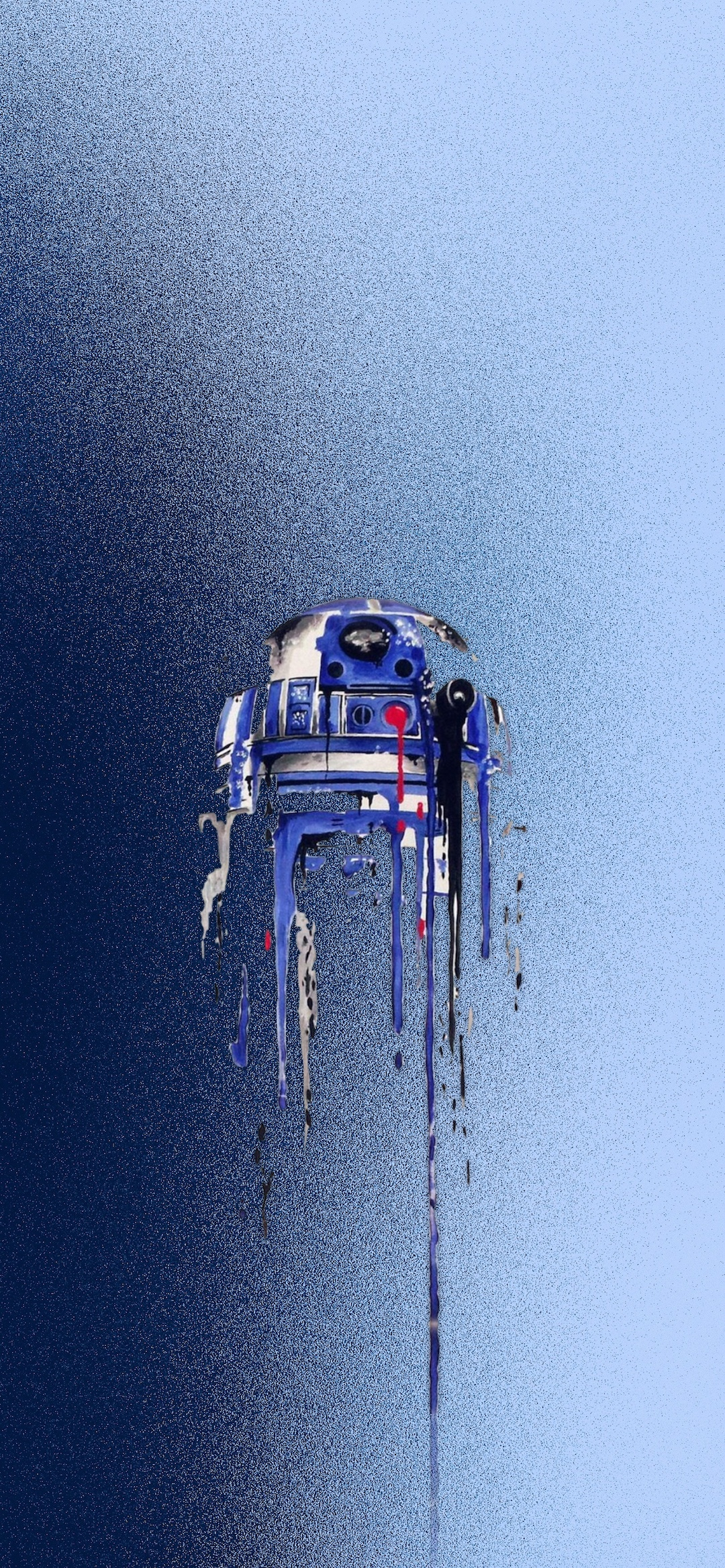 R2d2 star wars iphone X wallpaper by iamjoeya