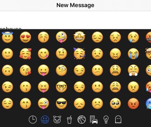 Using Smojis on iPhone Keyboard