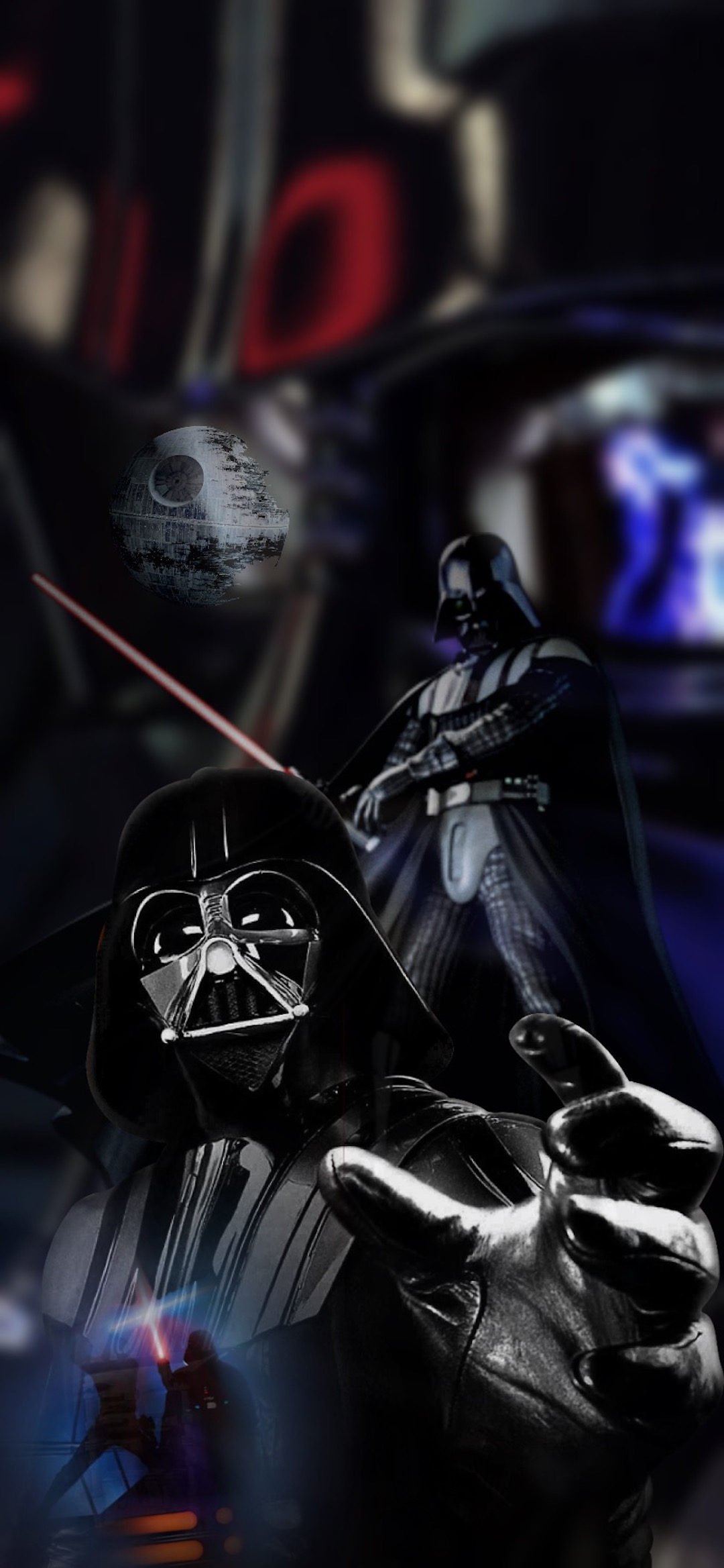 darth vader 2 star wars iphone X wallpaper by iamjoeya