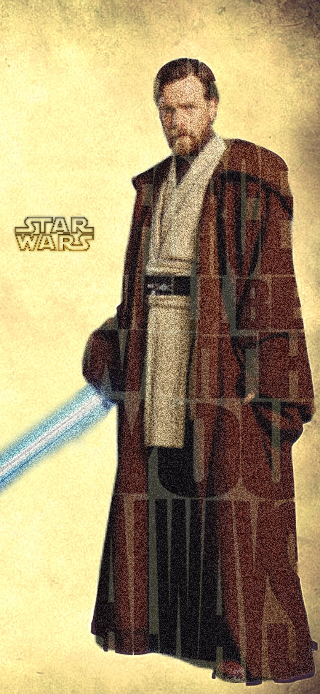 obi wan star wars iphone X wallpaper by iamjoeya