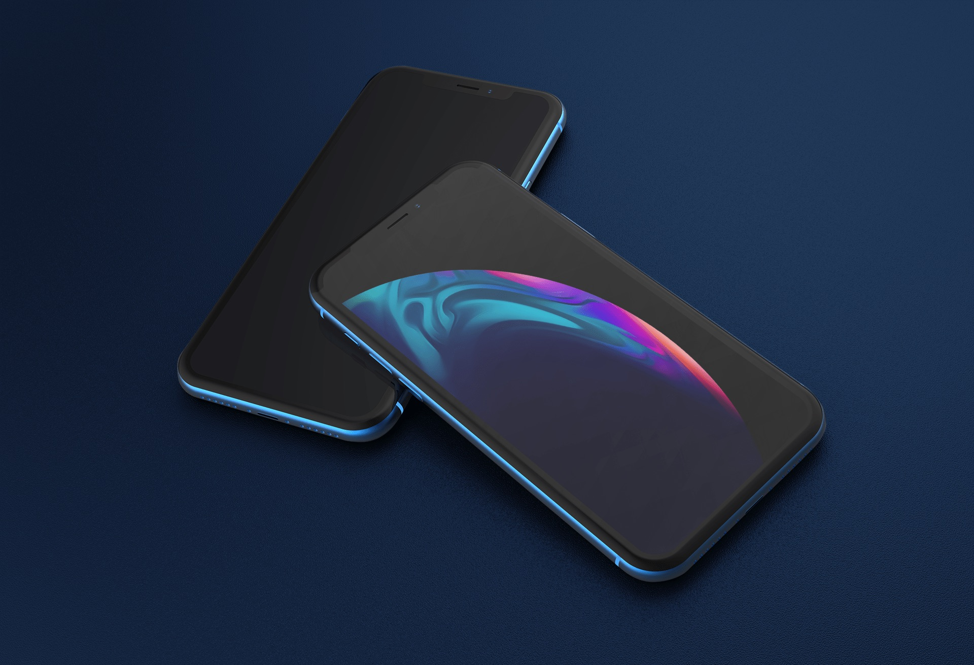 Apple unveiled planet-like wallpapers with their iPhone XS and iPhone XR. Since, they have become a popular wallpaper style in the community.