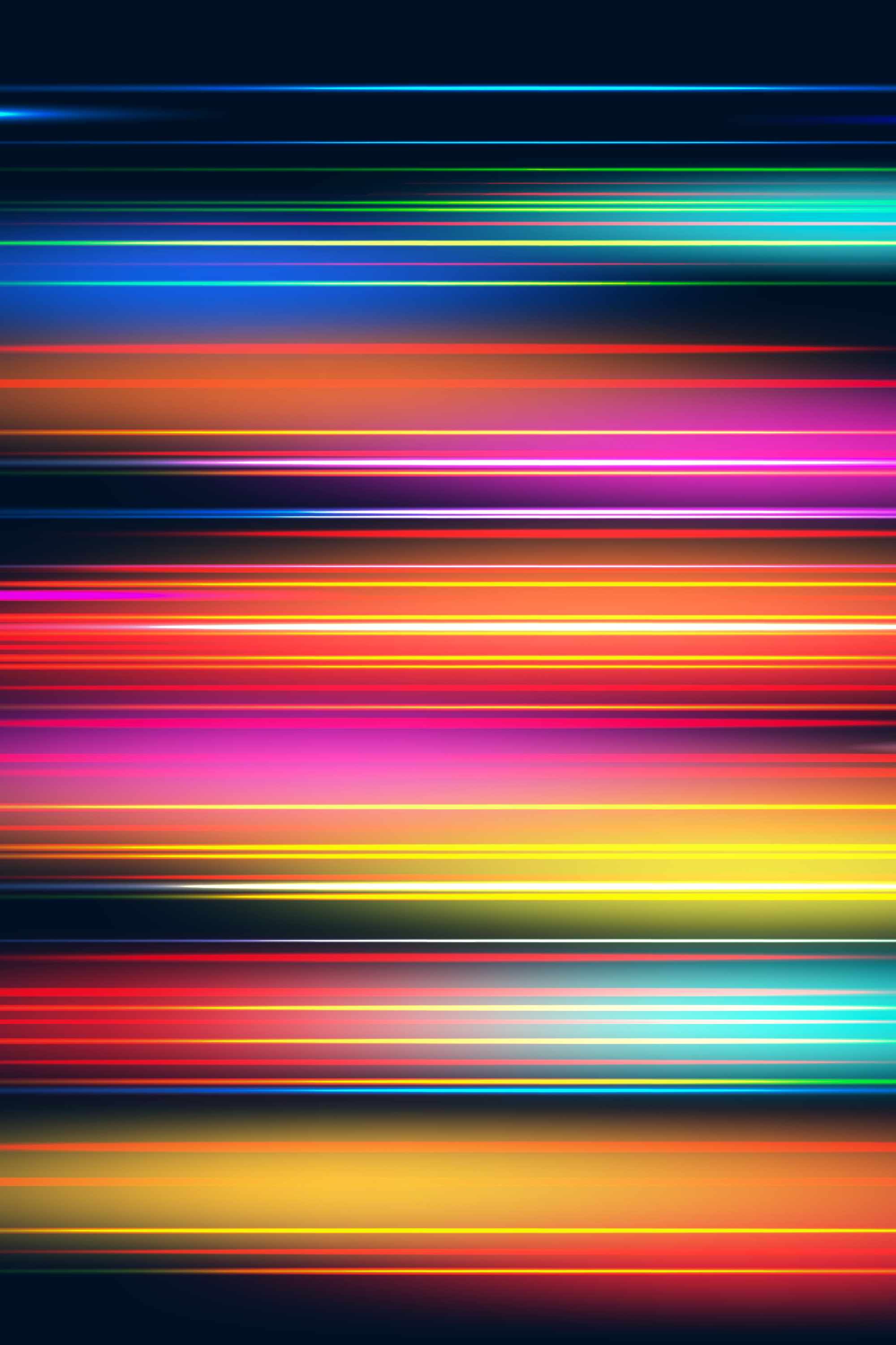 Abstract rainbow wallpaper iphone EvgeniyZemelko