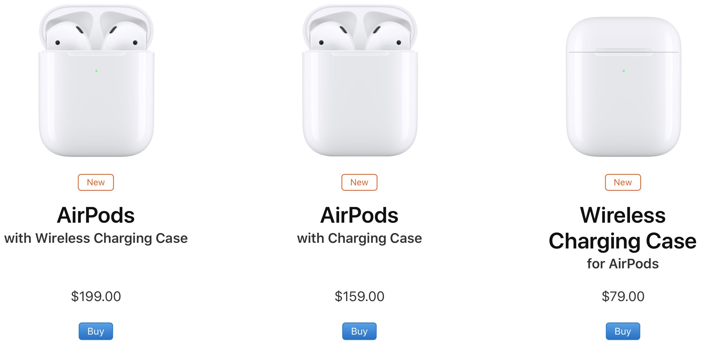 more photos 81342 3273f Existing AirPods owners can buy the new standalone $79 Qi wireless ...