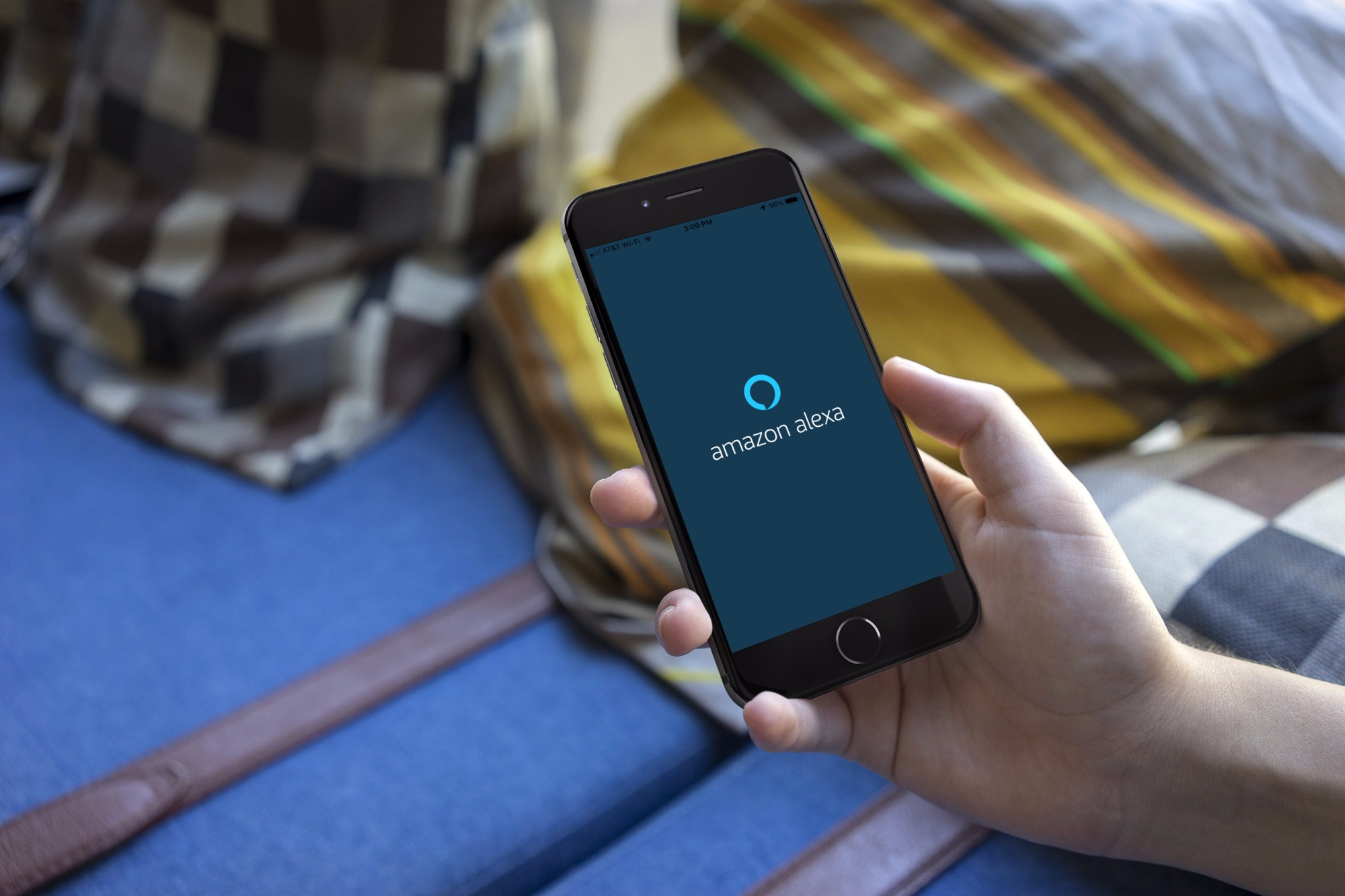 Amazon Alexa app on iPhone