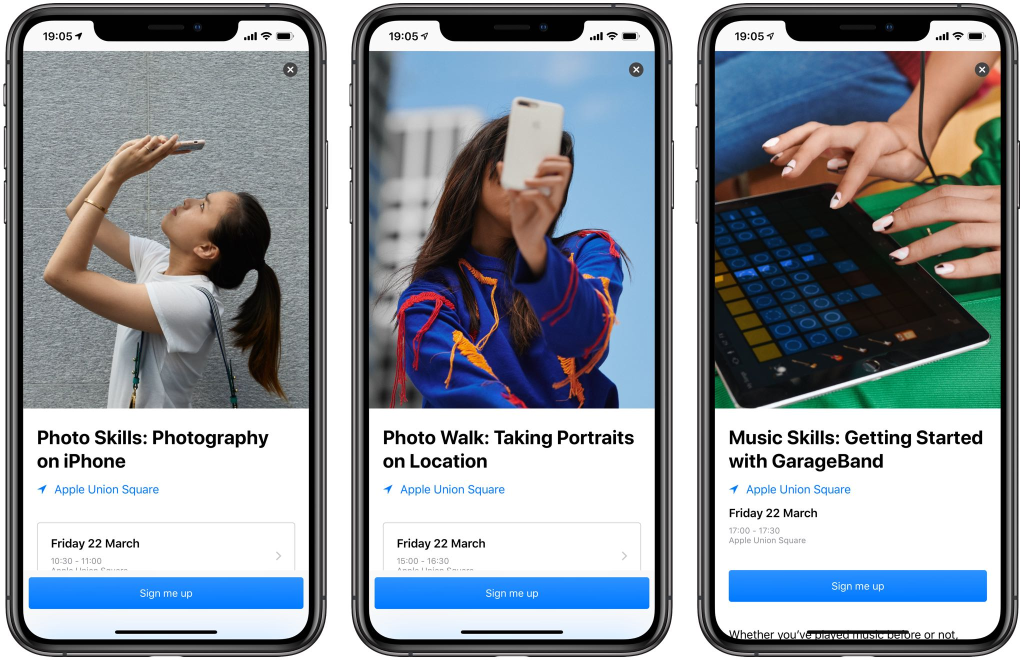 Apple Store app gains new Today at Apple sessions & easier iPhone trade-in assessment